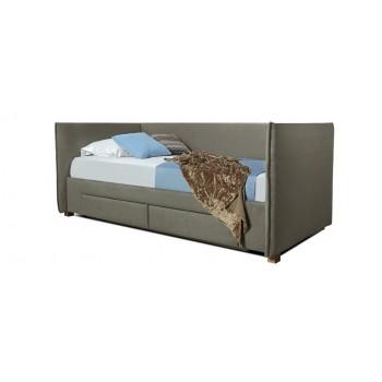 Кровать Дрим (спальное место 90х200 см) с ящиком тонкие быльца