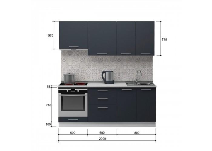 Кухня Грозовое небо 2.0  4