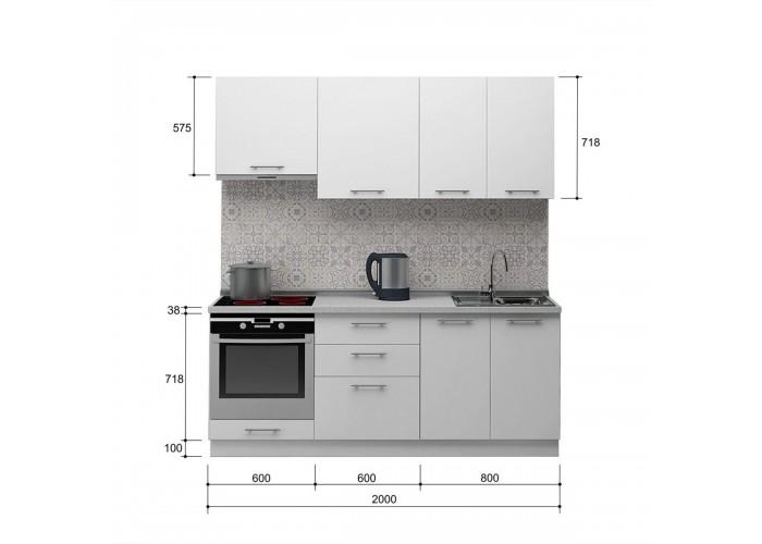 Кухня Лавина матова 2.0  2