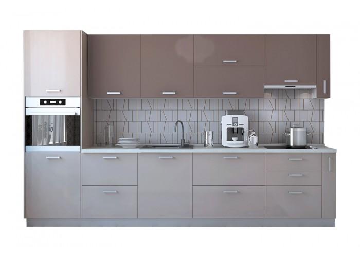 Модульная кухня Латэ Какао 3350 мм  2