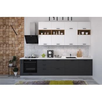 Модульная кухня Лавина Грозовое небо 3150 мм.