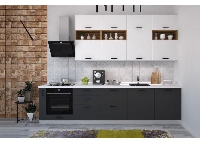 Модульная кухня Лавина Грозовое небо 3150 мм.  1
