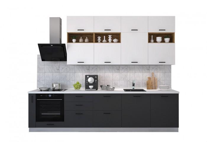 Модульная кухня Лавина Грозовое небо 3150 мм.  2