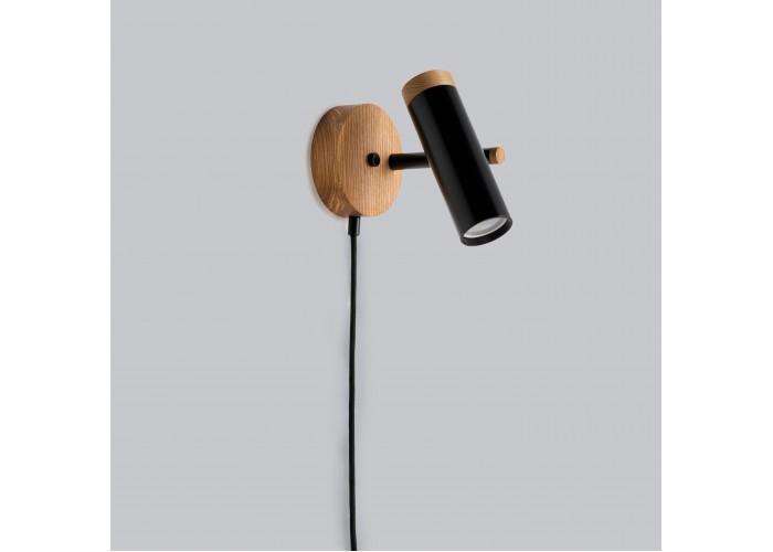Светильник современный Бра лофт на стену черный Urban Light black  5