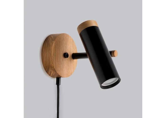 Светильник современный Бра лофт на стену черный Urban Light black  6