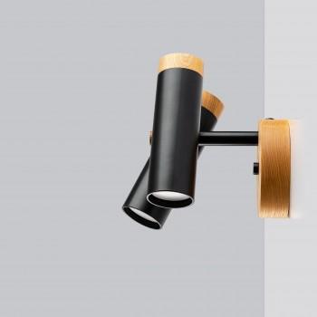 Светильник современный Бра лофт на стену черный Urban Light double black