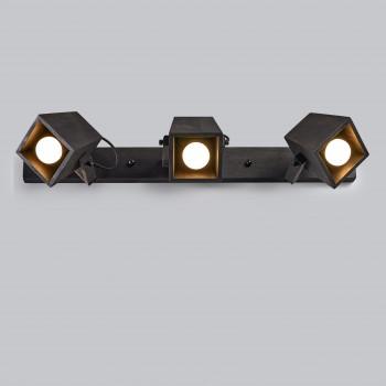 Светильник настенный/потолочный H5-3 черное масло