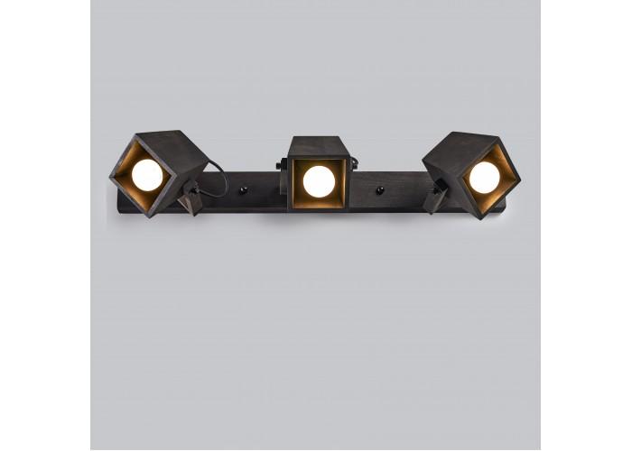Светильник настенный/потолочный H5-3 черное масло  1