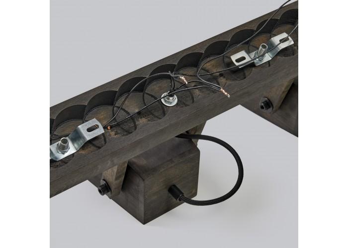 Светильник настенный/потолочный H5-3 черное масло  10