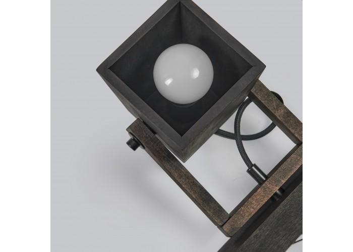 Светильник настенный/потолочный H5-3 черное масло  11