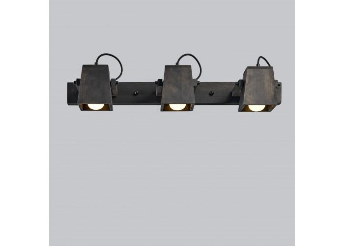 Светильник настенный/потолочный H5-3 черное масло  4