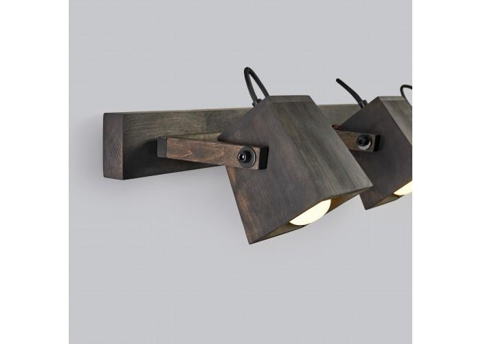 Светильник настенный/потолочный H5-3 черное масло  6