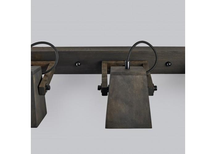 Светильник настенный/потолочный H5-3 черное масло  7