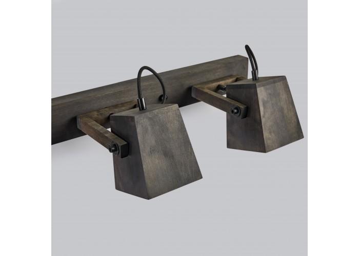 Светильник настенный/потолочный H5-3 черное масло  8