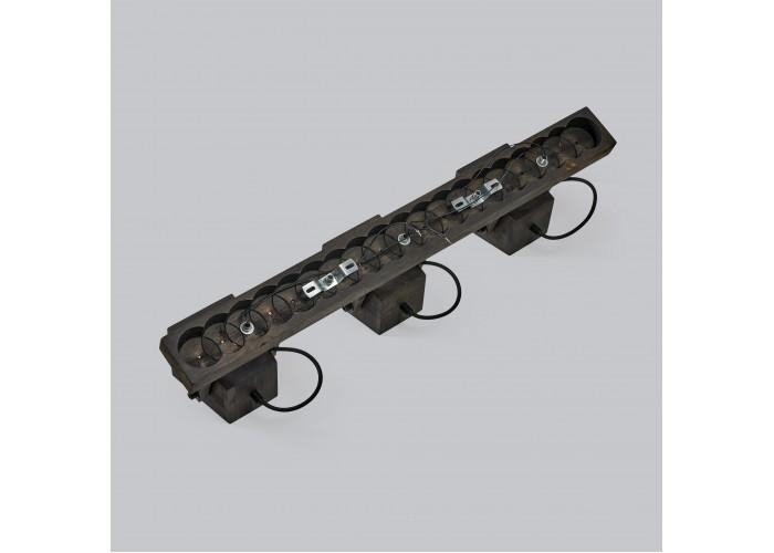 Светильник настенный/потолочный H5-3 черное масло  9