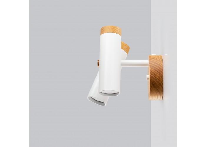 Светильник современный Бра лофт на стену белый Urban Light double white  1