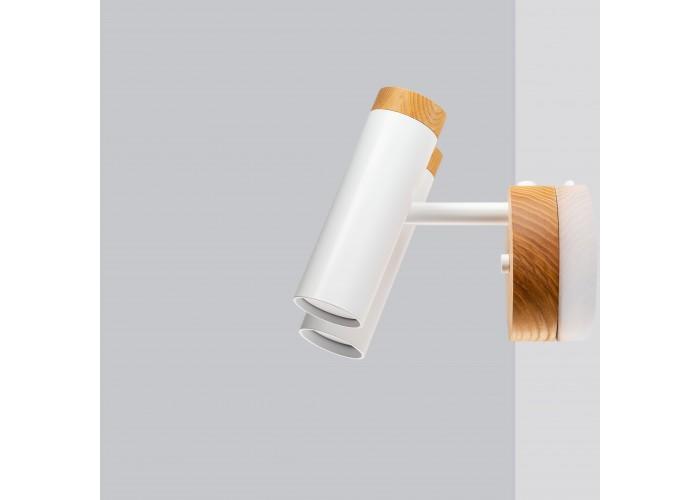 Светильник современный Бра лофт на стену белый Urban Light double white  3