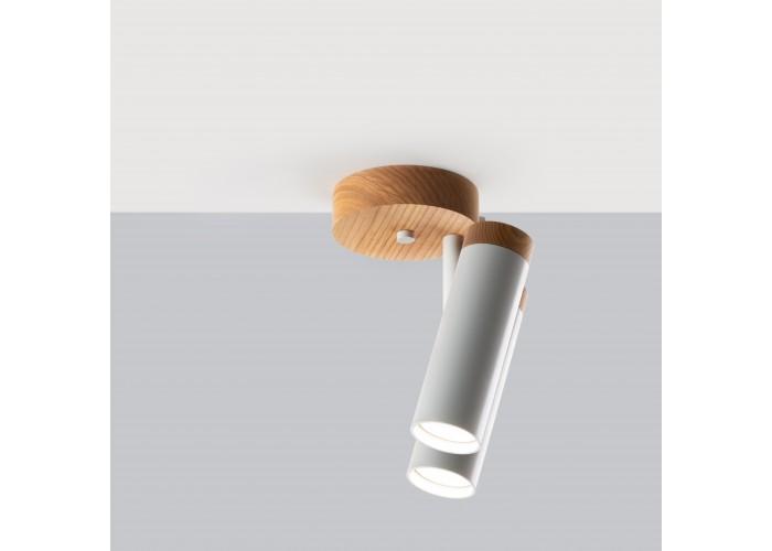 Светильник современный Бра лофт на стену белый Urban Light double white  5