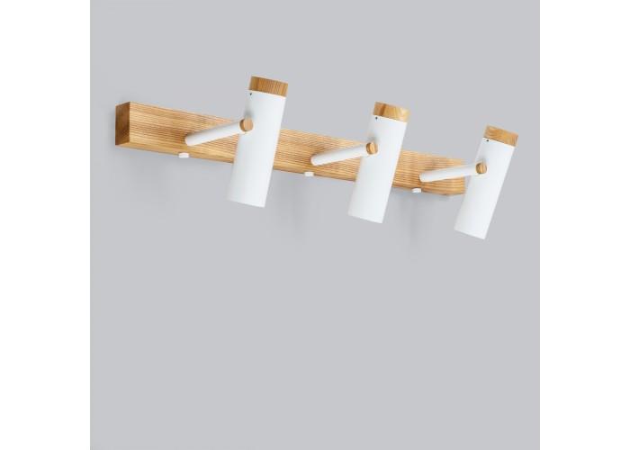 Настенный/потолочный светильник в стиле лофт Urban-3 white  10