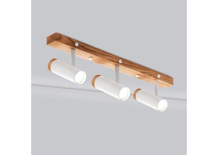 Настенный/потолочный светильник в стиле лофт Urban-3 white  2