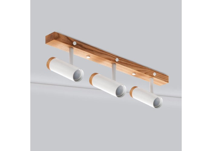 Настенный/потолочный светильник в стиле лофт Urban-3 white  3