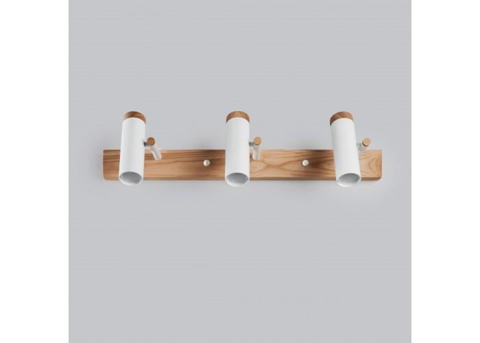 Настенный/потолочный светильник в стиле лофт Urban-3 white  5