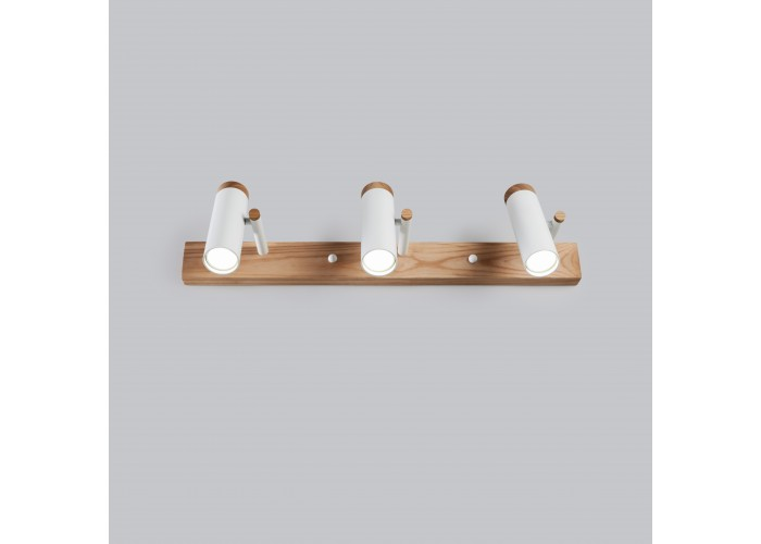 Настенный/потолочный светильник в стиле лофт Urban-3 white  6