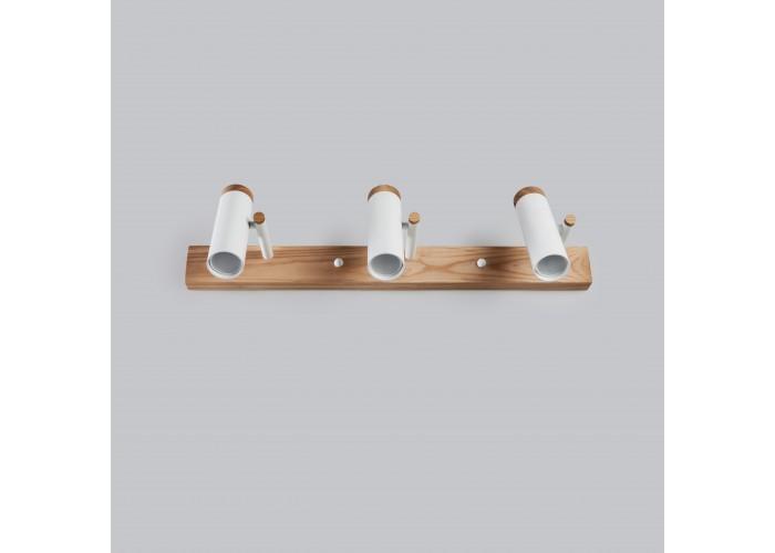 Настенный/потолочный светильник в стиле лофт Urban-3 white  7