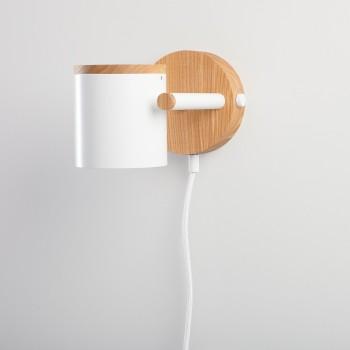 Светильник современный Бра лофт на стену белый American Light white
