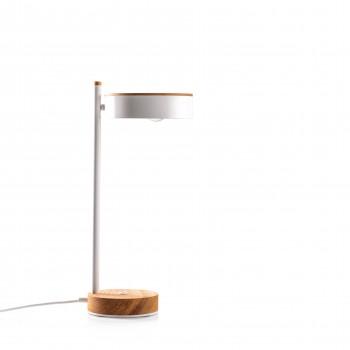 Настольная лампа MidCentury white