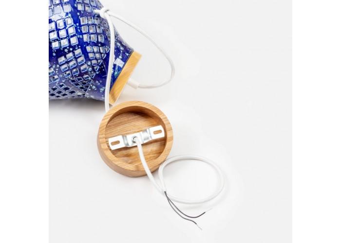 Светильник керамический Heart cobalt  10