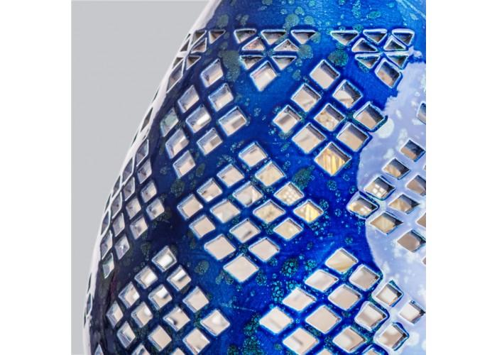 Светильник керамический Heart cobalt  5