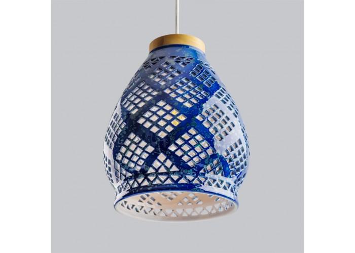 Светильник керамический Heart cobalt  8