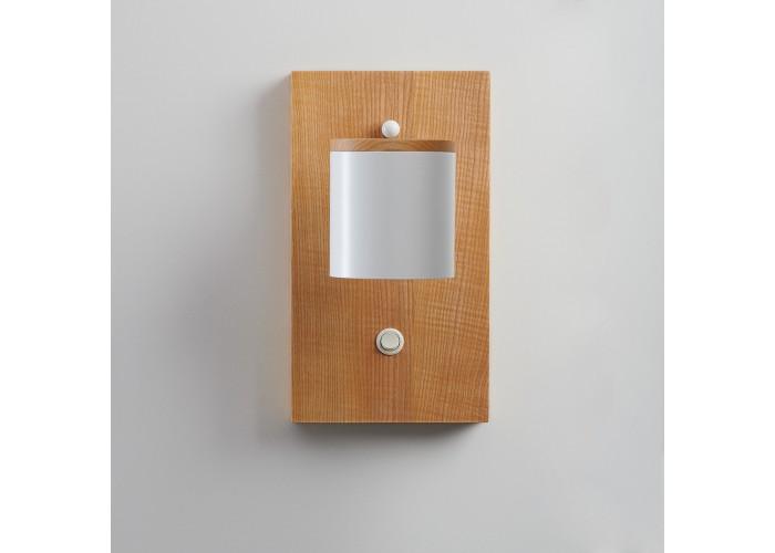 Светильник современный Бра лофт на стену белый Wooden Light white  4