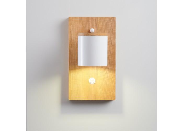Светильник современный Бра лофт на стену белый Wooden Light white  5