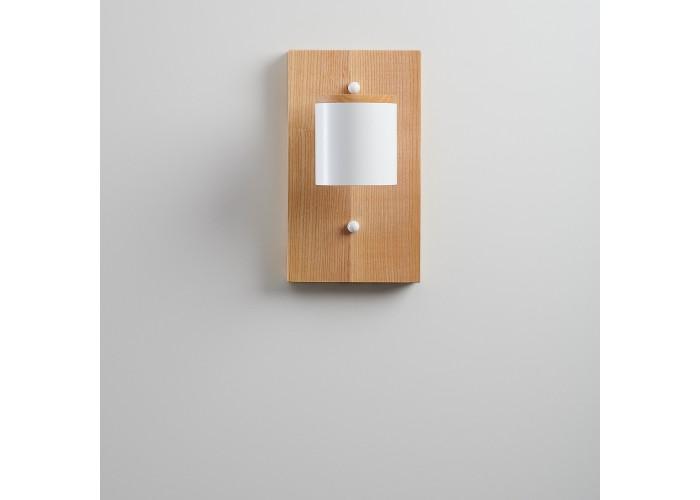 Светильник современный Бра лофт на стену белый Wooden Light white  6