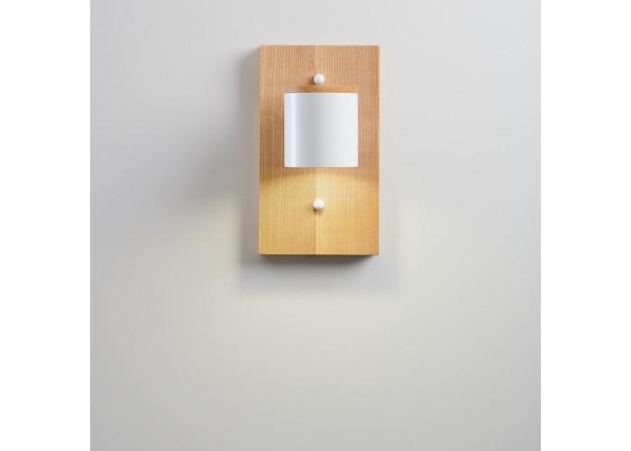 Светильник современный Бра лофт на стену белый Wooden Light white  7
