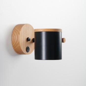 Светильник современный Бра лофт на стену черный American Light black