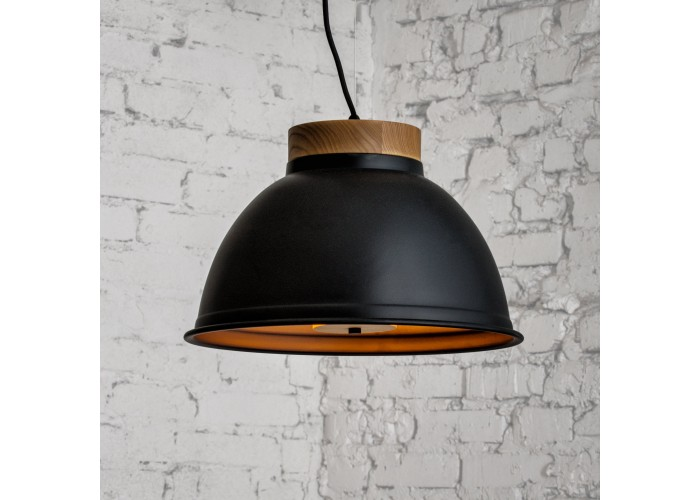 Светильник подвесной Urban light D390 Black  1