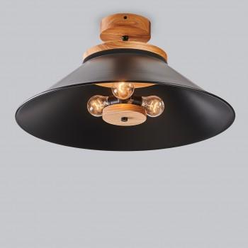 Светильник потолочный Schoolhouse light D500 Black