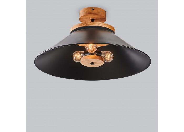 Светильник потолочный Schoolhouse light D500 Black  1