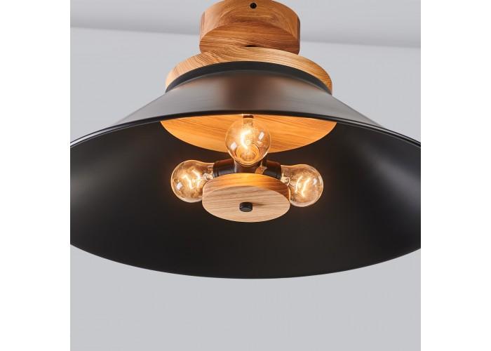 Светильник потолочный Schoolhouse light D500 Black  2