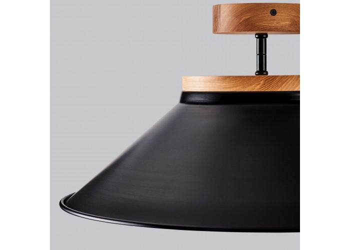 Светильник потолочный Schoolhouse light D500 Black  3