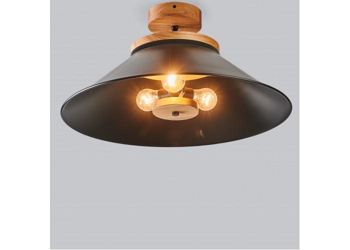 Светильник потолочный Schoolhouse light D500 Black  4
