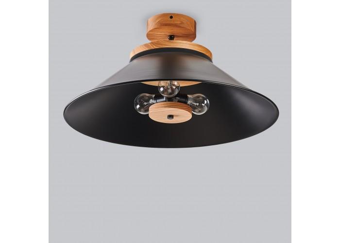Светильник потолочный Schoolhouse light D500 Black  5
