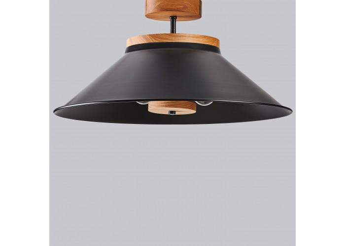 Светильник потолочный Schoolhouse light D500 Black  6