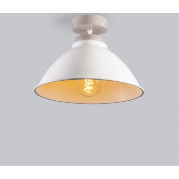 Светильник потолочный Rocket White /Light white oil