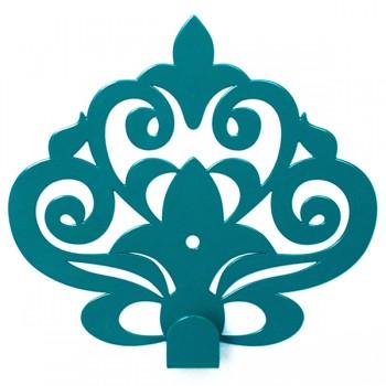 Вешалка настенная Крючок Glozis Ajur Turquoise H-062 11 х 10см