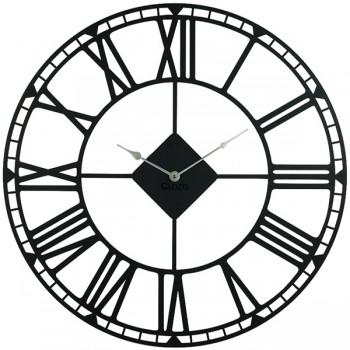 Большие Настенные Часы Glozis Oxford Black B-031 70х70