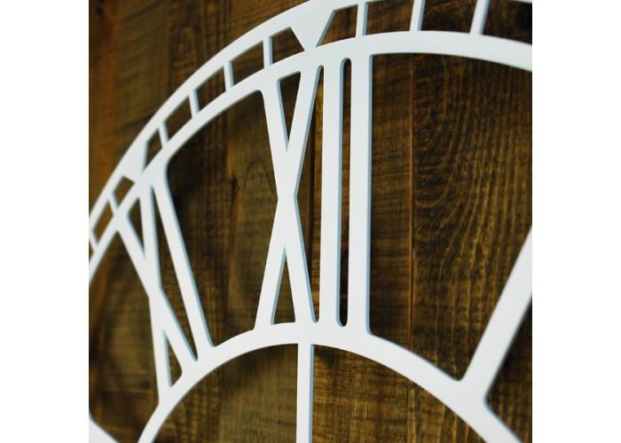 Большие Настенные Часы Glozis Oxford White B-032 70х70  5